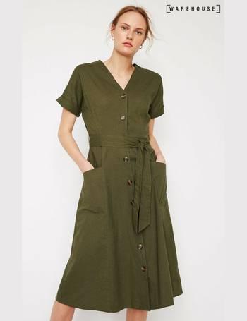795f31b940d9 Shop Women's Warehouse Shirt Dresses up to 65% Off | DealDoodle