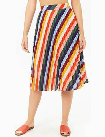 a4d31f29b0 Shop Women's Forever 21 Pleated Skirts up to 70% Off | DealDoodle