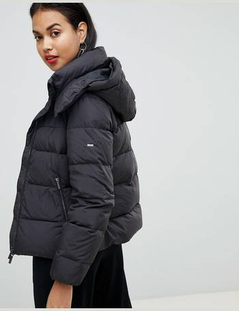 f53d3008b down padded jacket with hood