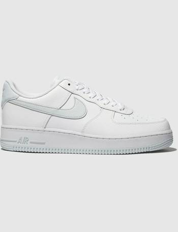 best service ce8c4 8137c White   Silver Air Force 1 07 Trainers from Schuh