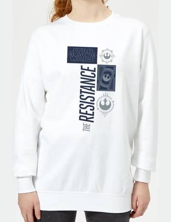 b4776465109d Star Wars. The Resistance White Women s Sweatshirt. from Zavvi