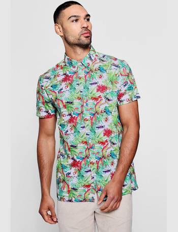 3039c6c0 Shop BoohooMan Mens Printed T-Shirts up to 75% Off | DealDoodle