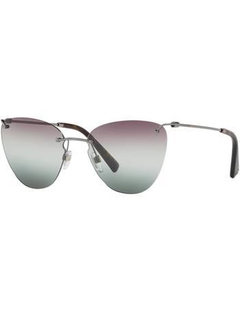 0b64bf7c9096 Va2022 58 Gunmetal Cat Sunglasses from Sunglass Hut Uk