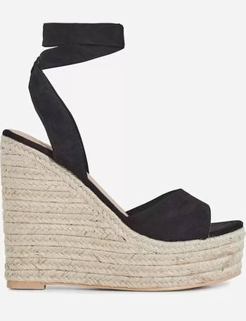 e491a520396c2 Hugo Lace Up Espadrille Wedge Platform Heel from Ego Shoes