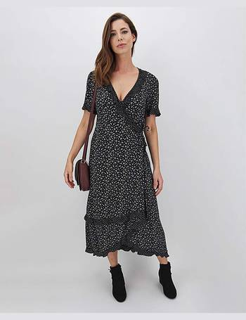 Womens Floral Print Midi Dress JD Williams