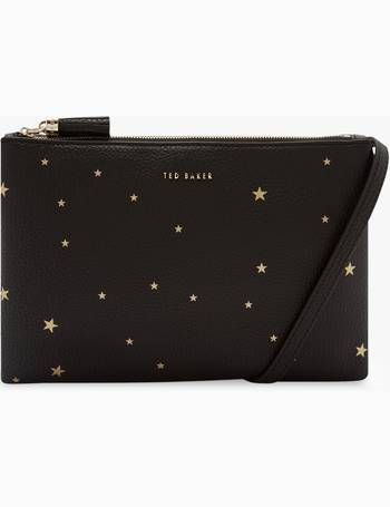 a8c57f810b65 Ted Baker. Soline Star Embossed Leather Cross Body Bag. from John Lewis