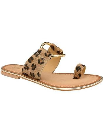 f9afce51a8a Franklin Leather Slip-On Sandals from Simply Be