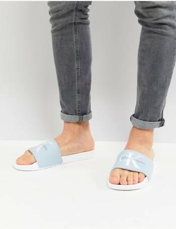 cc13b97919c9 Shop Men s Calvin Klein Slide Sandals up to 35% Off