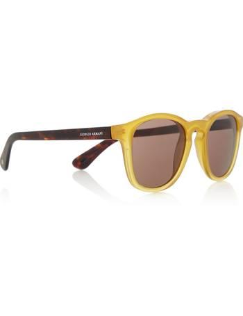 8f58926c9f5 Shop Men s Giorgio Armani Sunglasses Sunglasses up to 30% Off ...