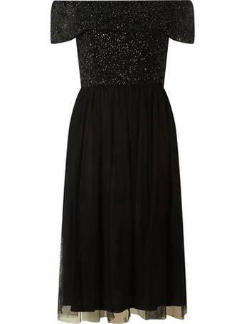 040cf15e Womens Showcase Black 'Camille' Prom Dress- Black from Dorothy Perkins