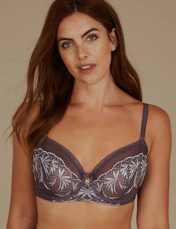 d6cd3e5b5703a Shop Women s Autograph Embroidered Bras up to 70% Off