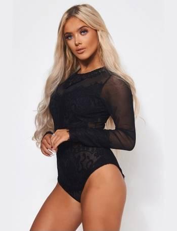 e00d6fec3f Amalfi Black Lace Bodysuit from The Fashion Bible