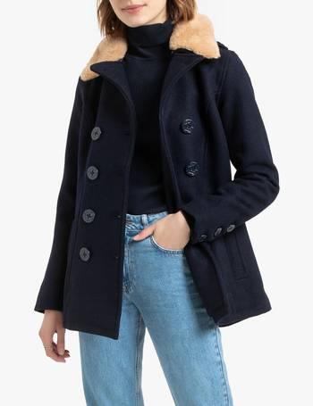 Womens Wool Pea Coats Up To 80, Womens Short Pea Coat Uk