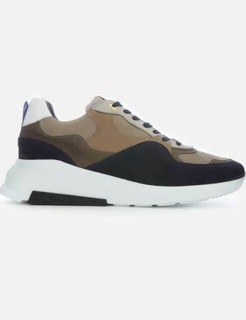 b0bf44f247831 Android Homme. Men s Malibu Runner Leather Suede Runner Style Trainers