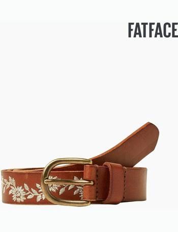 Shop Women's Fat Face Leather Belts up to 50% Off | DealDoodle