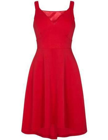 8f5870247e Mela London. Hi Low Structured Skater Dress. from House Of Fraser