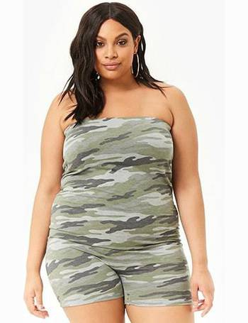 abf4d7218b Shop Women s Forever 21 Plus Size Jumpsuits up to 70% Off