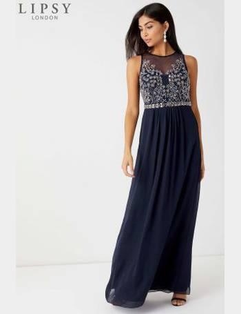 05f3191cb7 Petite Angelina Sequin Artwork Maxi Dress from Next