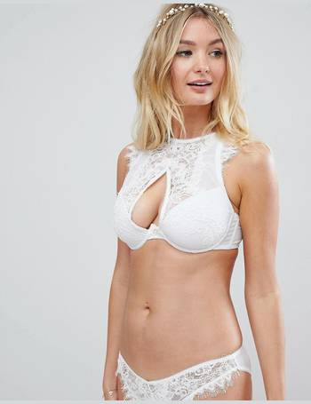 Fuller Bust Bridal Markle Corded Lace Cut Out Bralette from ASOS e73dfa80f
