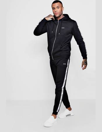 ffee0f81e13e Original MAN Embroidered Tracksuit With Tape from boohooMan
