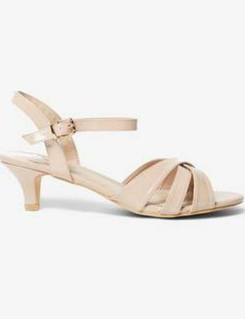 bf2434ebe953 Womens Wide Fit Nude  Swing  Sandals- White from Dorothy Perkins