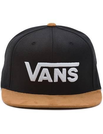 b41c3faa507 Drop V Snapback Hat (black khaki) Men Black from Vans