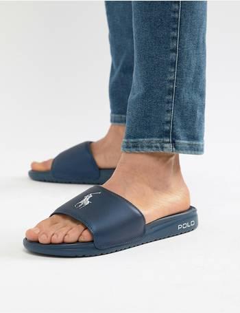 c600089a262c Shop Men s Polo Ralph Lauren Slide Sandals up to 40% Off