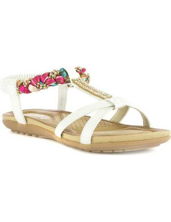 c09f03a28 Shop Lilley Women's Flat Sandals up to 40% Off | DealDoodle