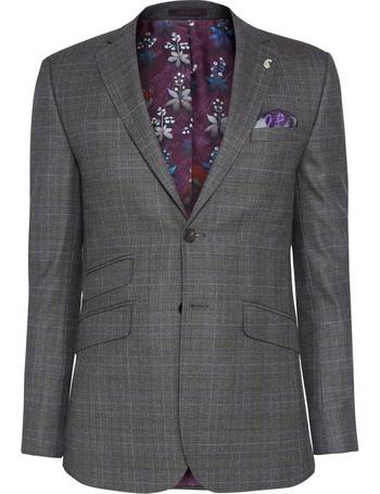 1b2fdcd8e Ted Baker. Doverrj Sterling Check Tailored Suit Jacket