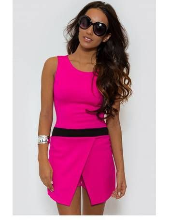 8d864f12d7 Antonia Pink Skort Playsuit from The Fashion Bible