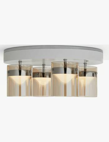 ae30757f00b8 Elara LED Semi Flush Smart Ceiling Light with Friends of Hue from John Lewis