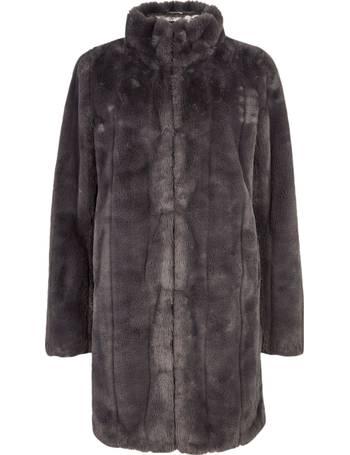 Dorothy Perkins Faux Fur Coats, Ladies Black Fur Coat Dorothy Perkins
