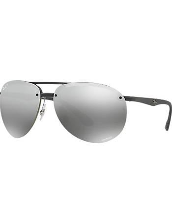 c58ef6b3eab5c Ray-ban. RB4293CH Chromance Polarised Aviator Sunglasses. from John Lewis
