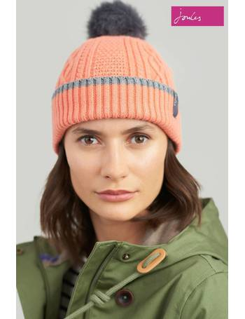 9ceaf5321 Anya Bobble Hat With Faux Fur Pom