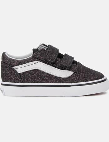 202c1e2c9d Vans. Toddlers  Glitter Stars Old Skool Velcro Trainers