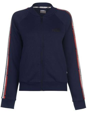 572e3f779a40 Puma. Tape Zip Jacket Ladies. from Sports Direct