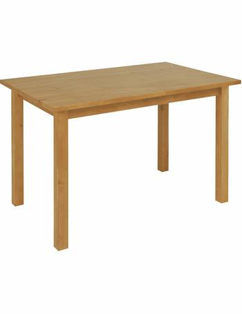 adc7ef0395 Argos Home. Ashdon Solid Pine 4 Seater Dining Table