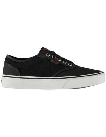 all black vans sports direct