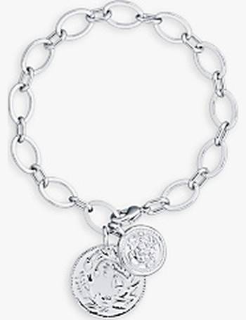 3b5574110d62 Karen Millen. Double Coin Chain Bracelet. from John Lewis