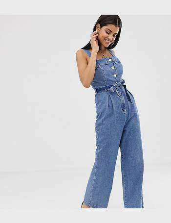 78b821a9 Shop Womens Denim Jumpsuits from ASOS up to 70% Off | DealDoodle