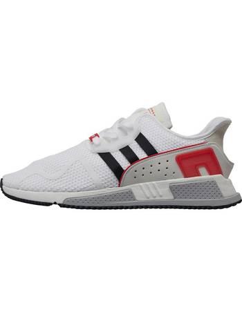 online store c5d31 1aa80 Mens EQT Cushion ADV Trainers Footwear White/Core Black/Scarlet