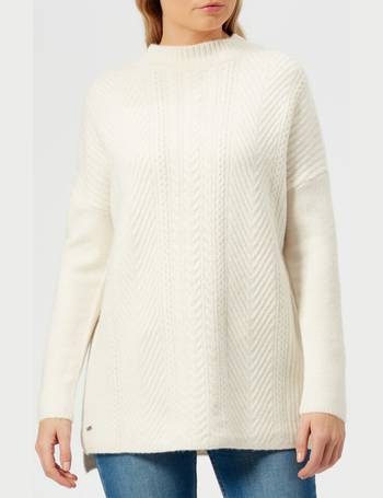 621bc6eae60 Women's Fallon Funnel Cable Knitted Jumper