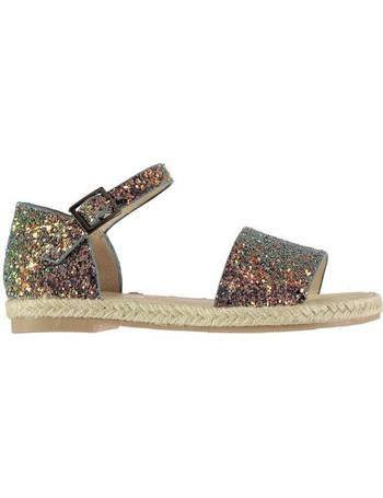 8b792107d Espadrille Glitter Child Girls Sandals from Sports Direct. 64% OFF