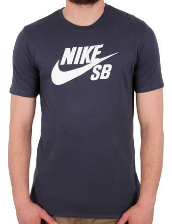 eb7bd56c4e70 Nike SB. Logo T shirt - Thunder Blue White. from Skatehut