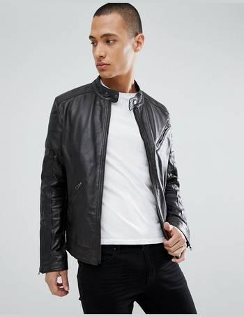 c67ecf311 Real Leather Biker Jacket