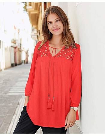Womens Together Detachable Tie Lace Blouse JD Williams