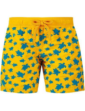 c90da1af44 Vilebrequin. Junior Boys Flocked Micro Ronde Des Tortues Swim Shorts