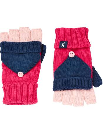 Joules Girls Ailsa Double Pom Hat in FRENCH NAVY