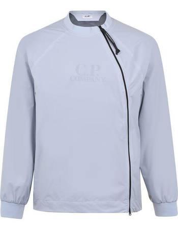 CP Company Boy`s Goggle Hooded Sweatshirt 887 Blue