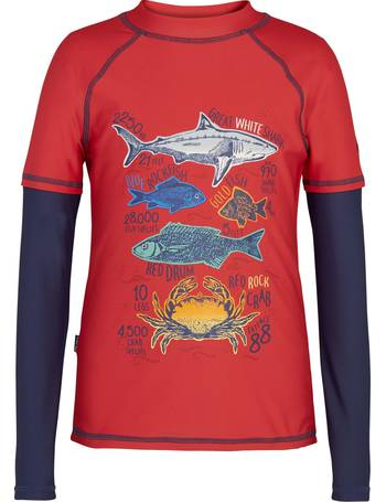 c9bb65df6e Fat Face. Boys' Rash Vest. from John Lewis. £14.00. Boys' Deep Sea Board  Shorts ...